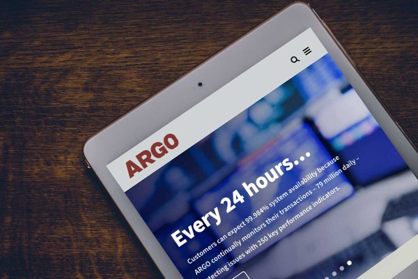 Argo Data - Website Design and Development